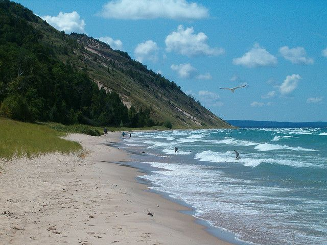 Sunny Day At Empire Beach By Pure Michigan