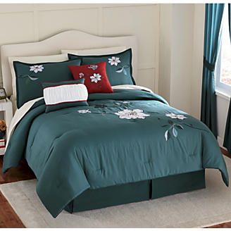 Magnolia Comforter Set Pillow And Window Treatments From Montgomery