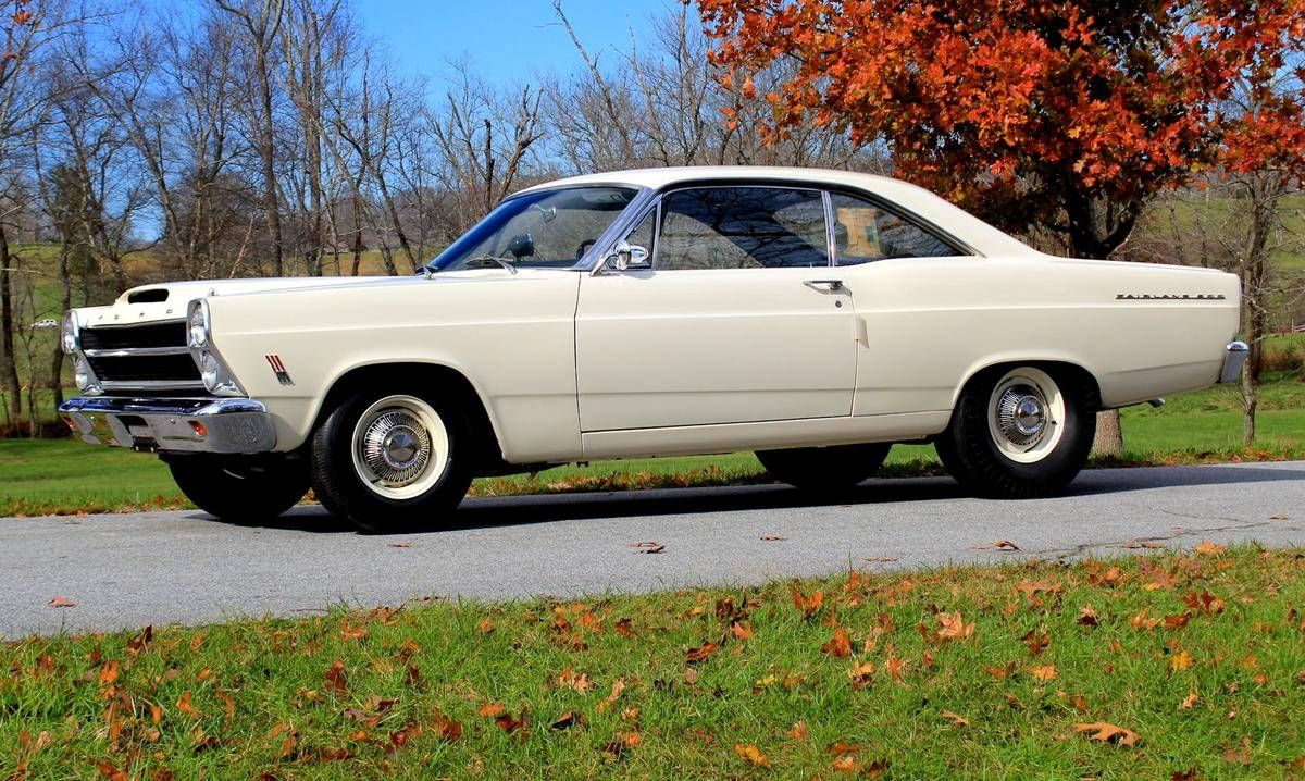 1966 Ford Fairlane 500xl 2 Door Hardtop Ford Fairlane Ford