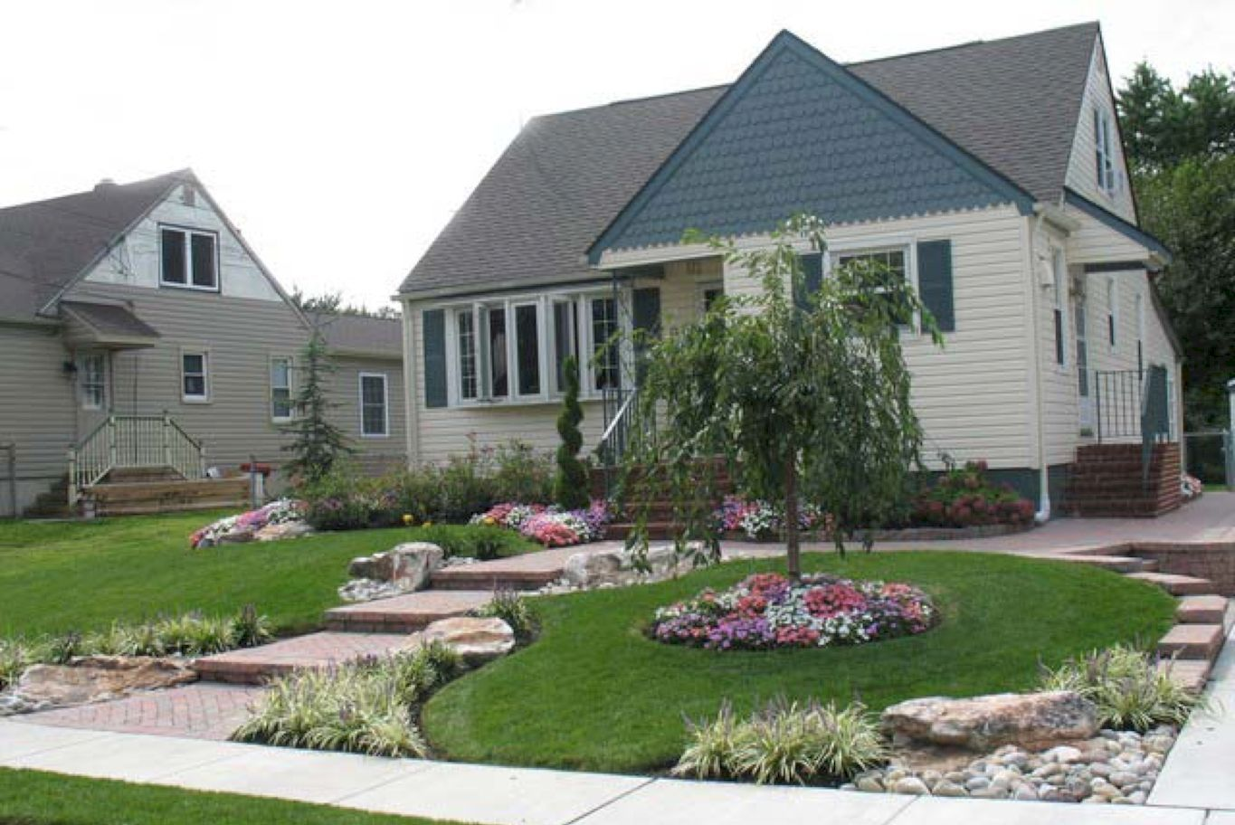 Landscaping ideas for front yard with porch   Fabulous Front Yard Walkway Landscaping Ideas  Front yard