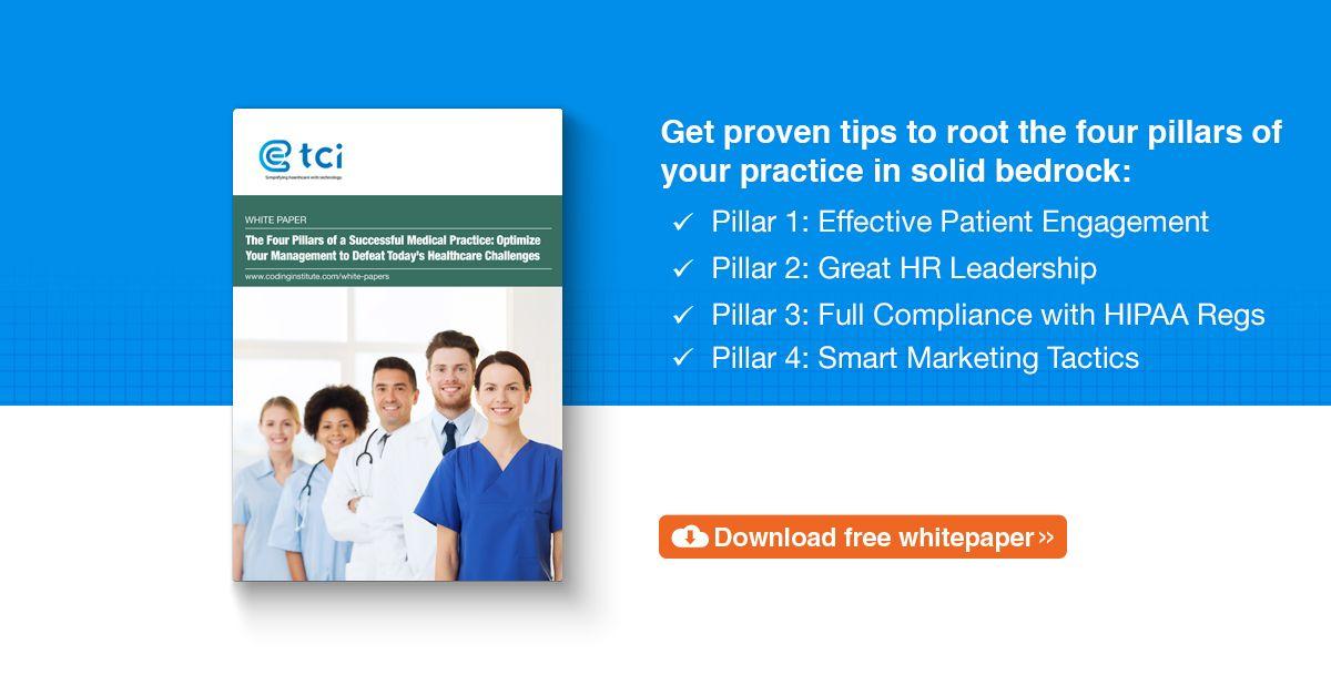 Four pillars of a successful medical practice tci