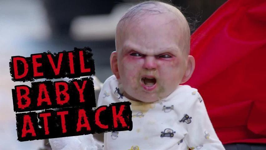 Bebé filho do diabo aterroriza Nova Iorque…muito assustador!!