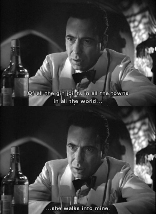 Casablanca Quotes Casablanca ❤   | Iconic in 2019 | Movies, Movie Quotes  Casablanca Quotes
