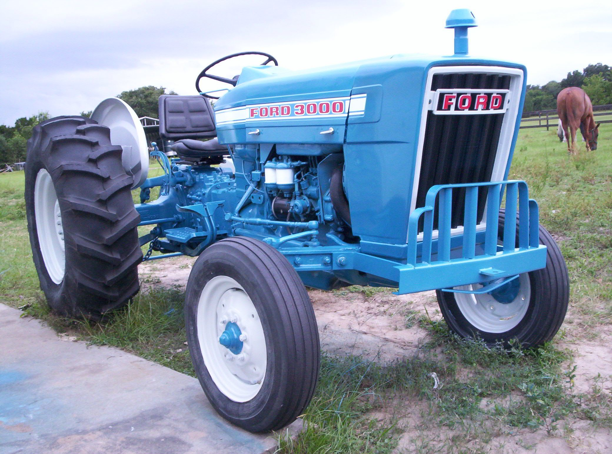 Ford 3000 Tractors Vintage Tractors New Holland Tractor