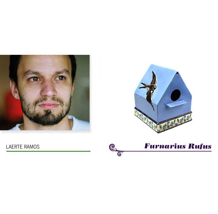 """""""Furnarius Rufus"""" by Laerte Ramos - Special Edition numbered and limited to 125 examples."""