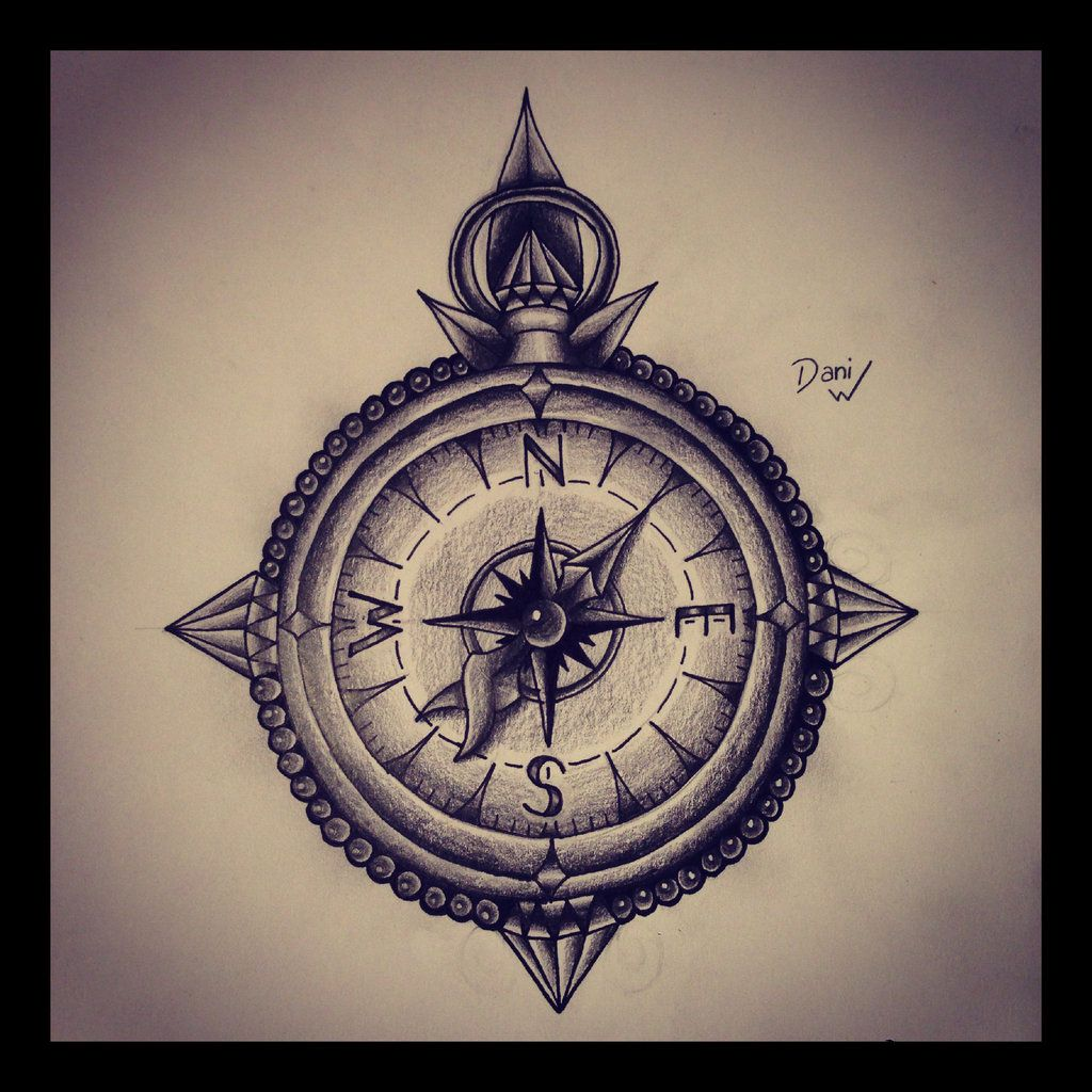 Images For > Simple Compass Tattoo Designs | Tatt ideas ...