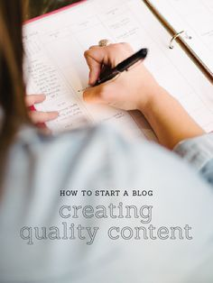 How to Start a Blog: Creating Quality Content — Elle & Co.