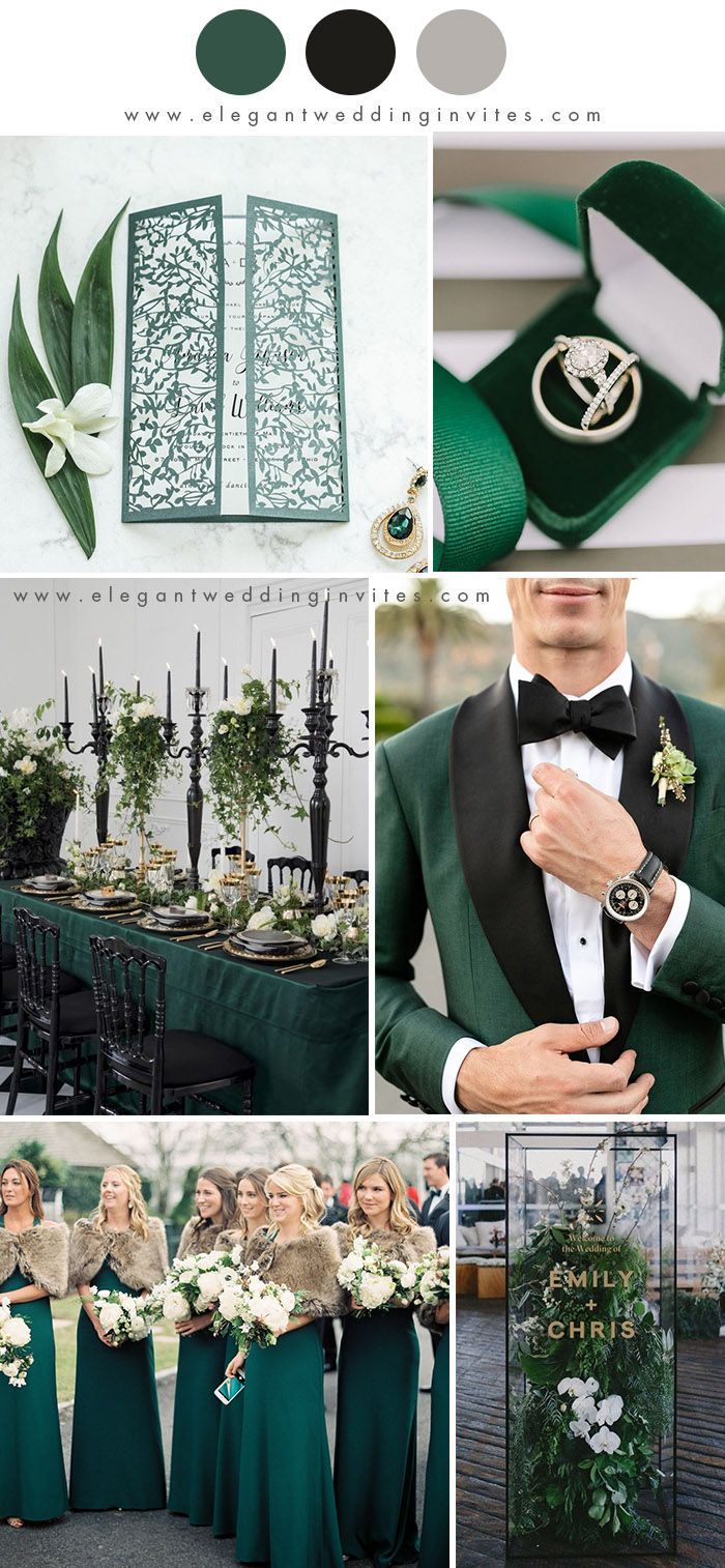 Photo of 10 Best Winter Wedding Color Palettes for 2019 & 2020