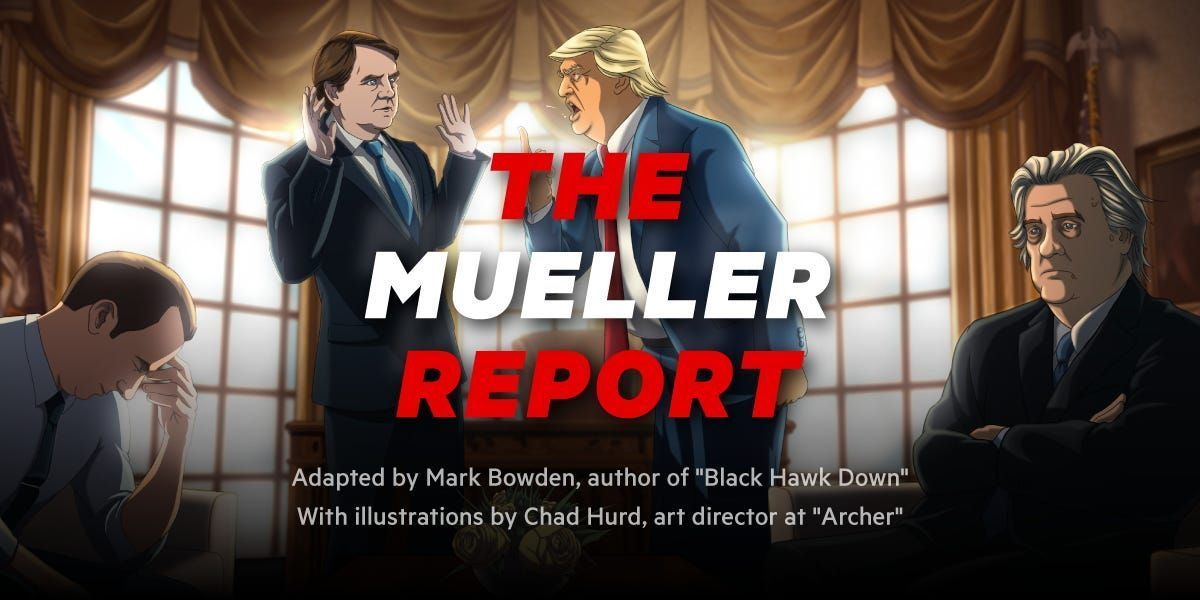 It feels like nobody read the Mueller report. That's a shame, because it's an important document, depicting possible crimes by a sitting US president. #importantdocuments It feels like nobody read the Mueller report. That's a shame, because it's an important document, depicting possible crimes by a sitting US president. #importantdocuments It feels like nobody read the Mueller report. That's a shame, because it's an important document, depicting possible crimes by a sitting US president. #import #importantdocuments