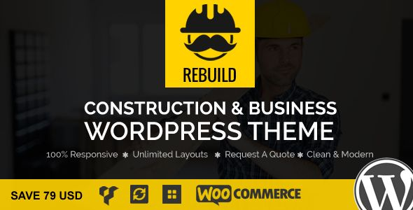 ReBuild - WP Construction & Building Business Theme #Architecture, #Building, #Company, #Construction, #Constructor, #Contractor, #Corporate, #EssentialGrid, #Industry, #Janxcode, #Plumber, #SliderRevolution http://goo.gl/CgZ2Gk