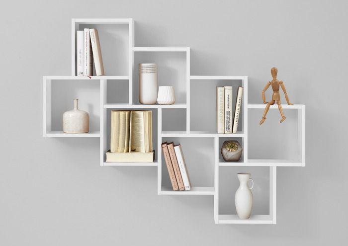 Fmd Regal Laurio Weiss Kunststoff In 2020 Regalwand Wandregale Design Regal