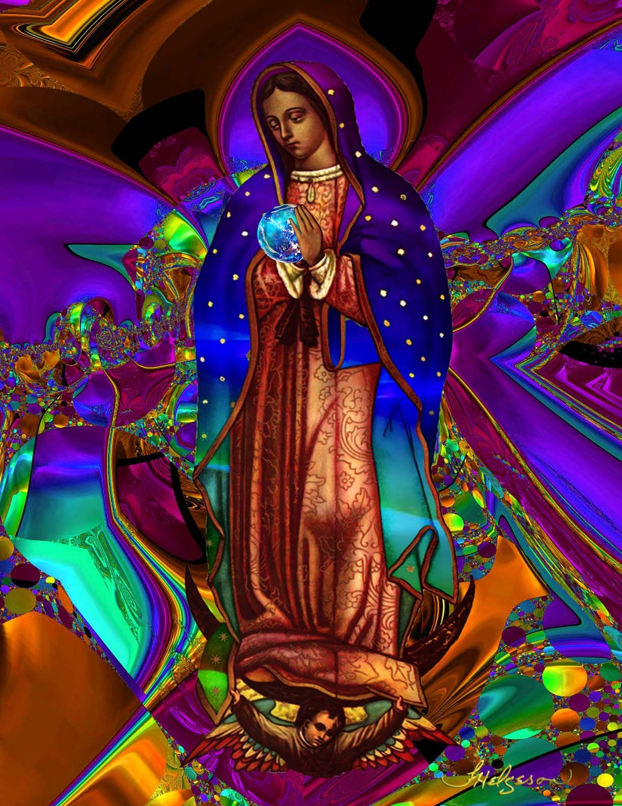 Our Lady of Guadalupe Virgin of Guadalupe Queen of the