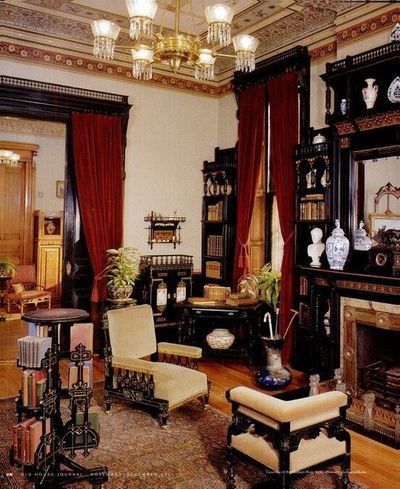 Hudson River Museum Yonkers Ny Victorian House Interiors Decor Rooms