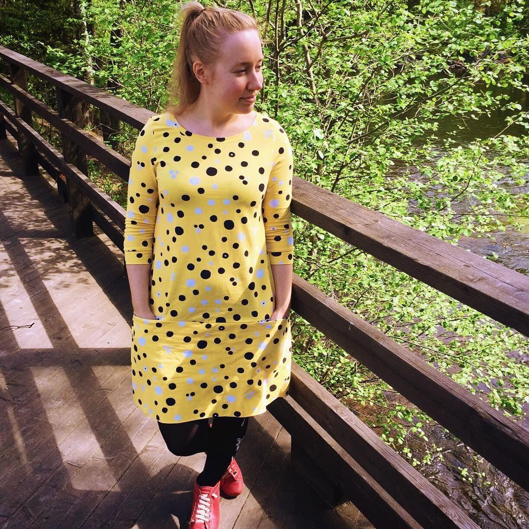 dress ladyskaterdress aino mekkotehdasaikuisille piilotasku annukanaurinkoiset sewing