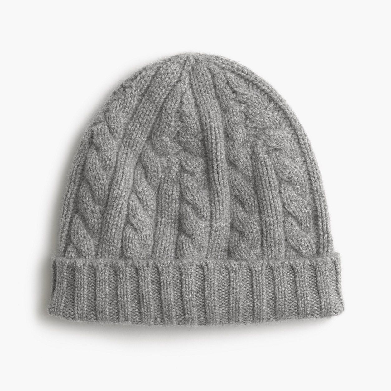 J.Crew Mens Cashmere Cable-Knit Beanie Hat  1ec87ea41