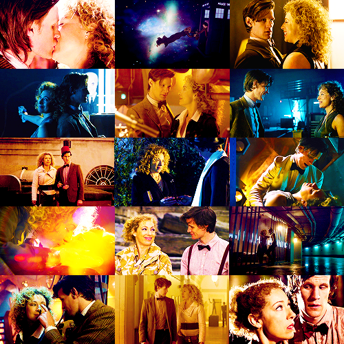 """""""I can't let you without knowing you are loved. By so many and so much. And by no one more than me.""""  """"River, you and I, we know what this means. We are ground zero of an explosion that will engulf all reality. Billions and billions will suffer and die.""""   """"I'll suffer if I have to kill you.""""  """"More than everything living thing in the universe?!""""   """"Yes."""""""
