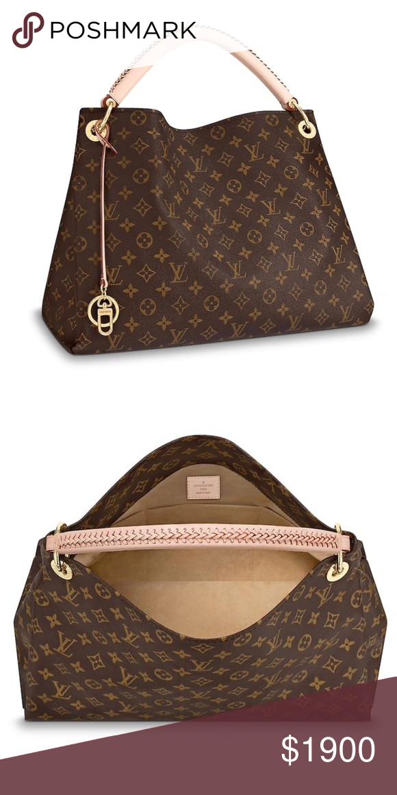 efc1e799c94 LOUIS VUITTON ARTSY MM Monogram This handbag has been used a few times