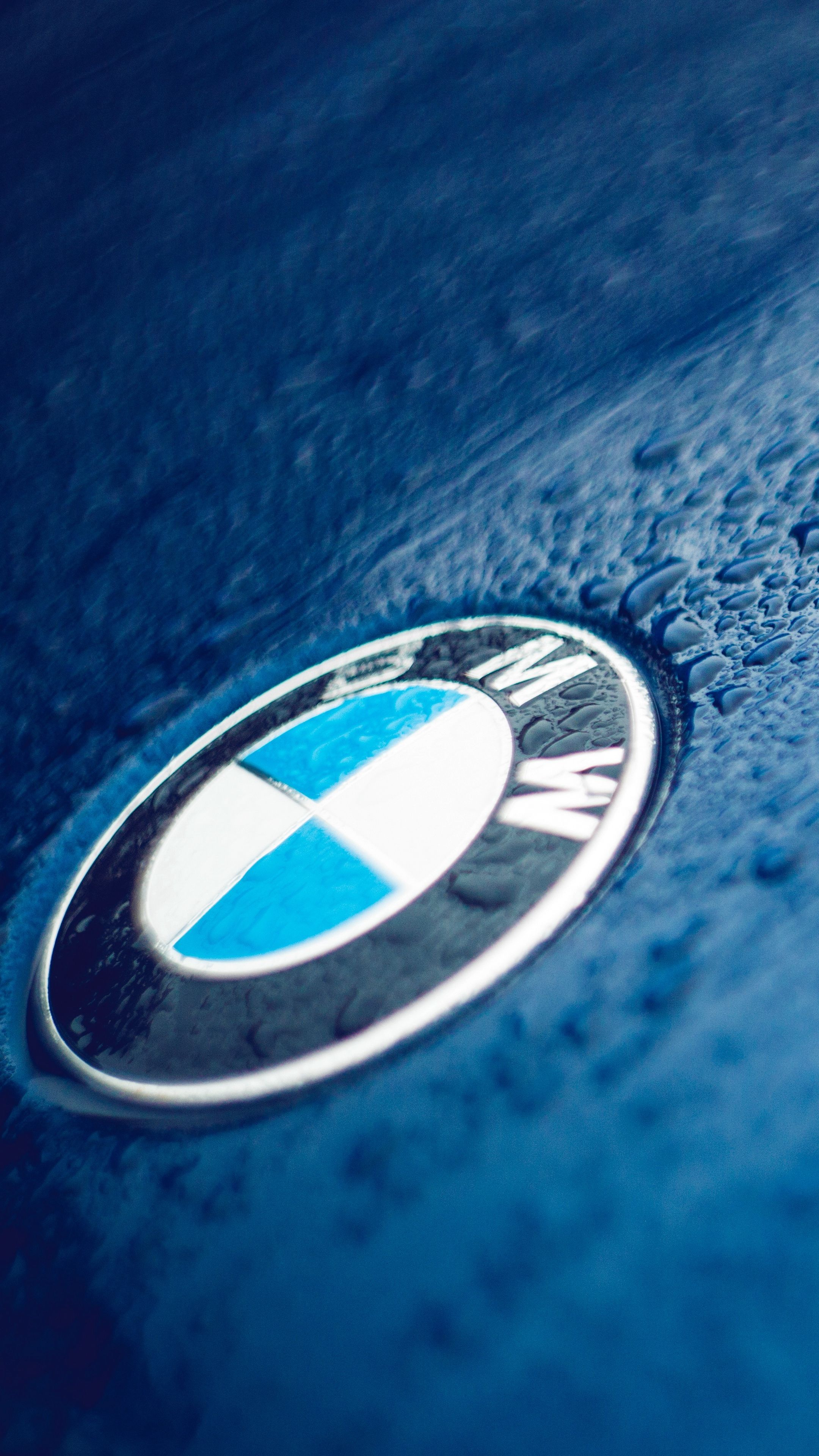 Cars Bmw Logo Drops Wallpapers Hd 4k Background For Android