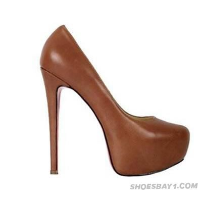 949d4c815fd8 ... coupon for discount christian louboutin daffodile 160mm brown leather  pumps outlet online for sale 38577 155c6