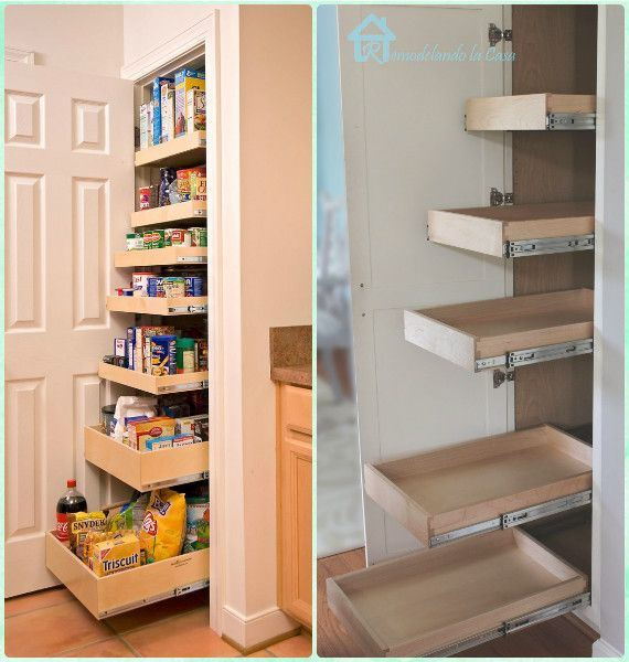 Kitchen Beautiful And Space Saving Kitchen Pantry Ideas: 30 DIY Space Saving Hacks To Organize Your Kitchen