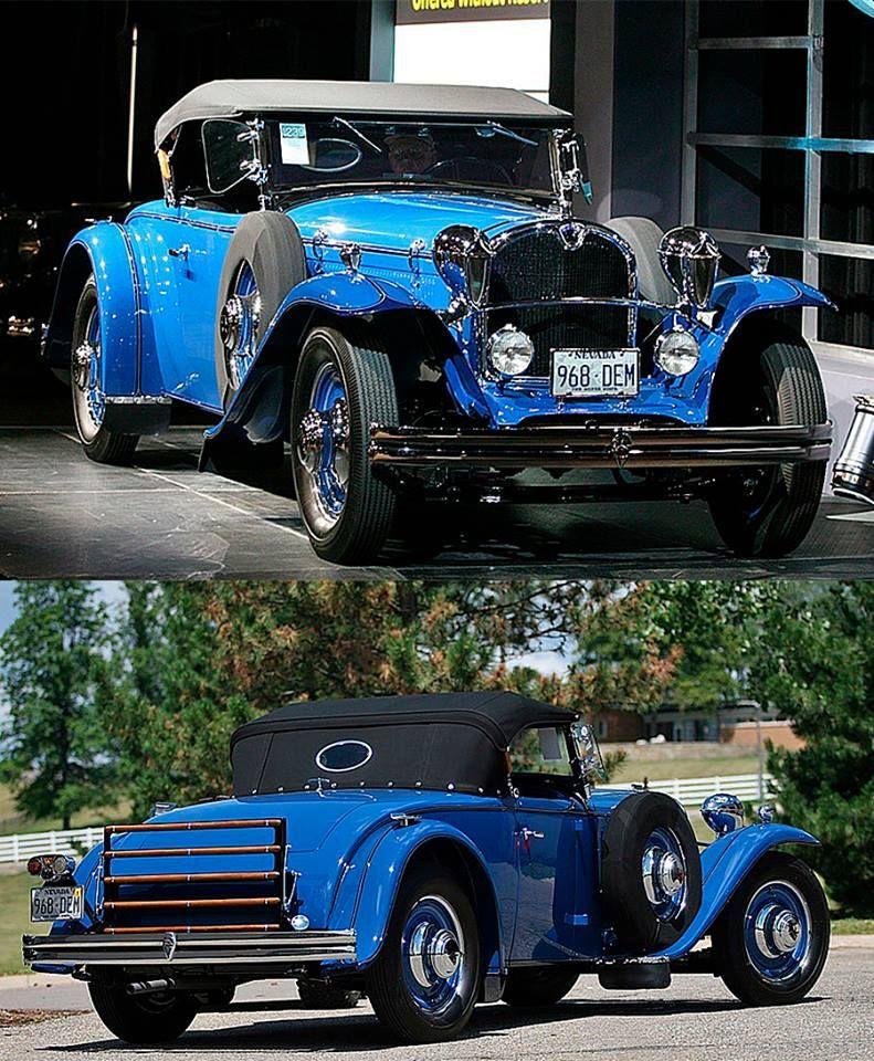 Ruxton Roadster 1931