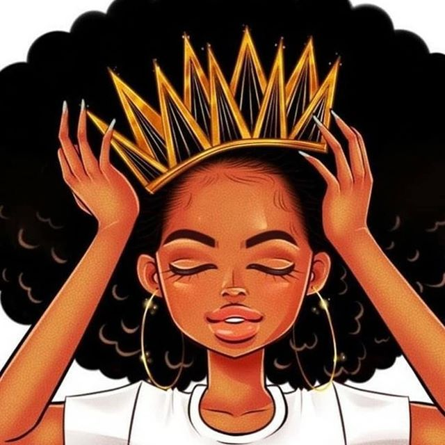 Hey Queen Fix Your Crown Before You Walk Outside Black