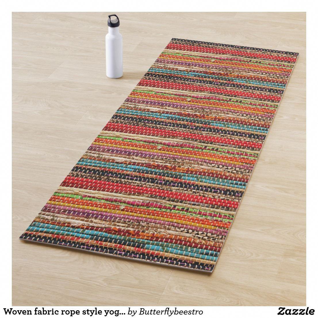 Bildresultat för woven yogamat