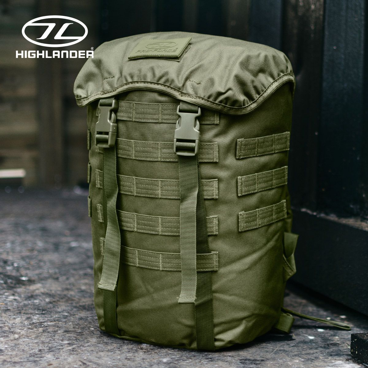 NEW Highlander Military Army Skirmish Pack Hiking Camping Hunting Essentials