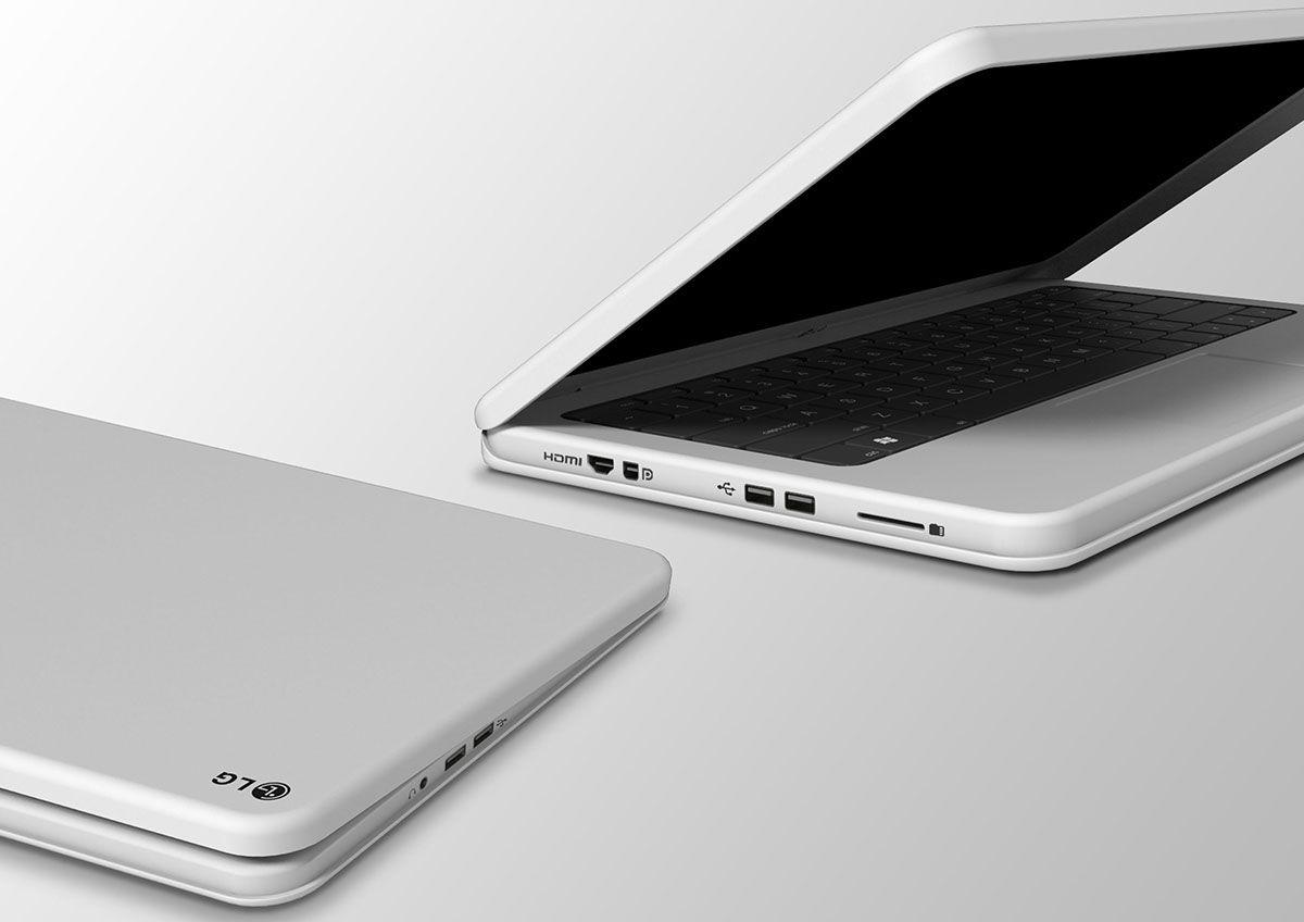 Pebble laptop on Behance
