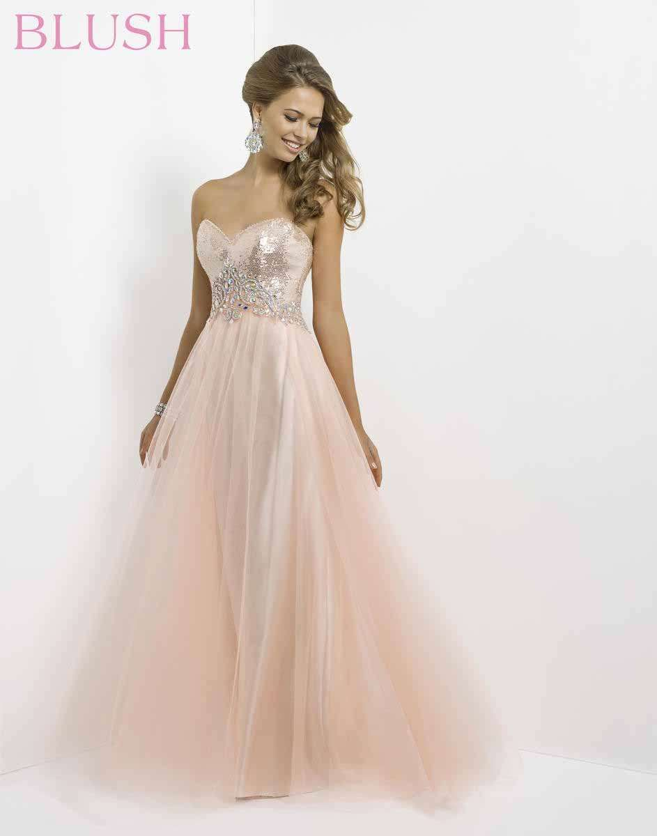 Blush prom at the ultimate sherri hill pinterest blush