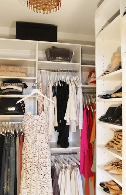My Master Bedroom Closet Reveal With California Closets Before After Jws Interiors