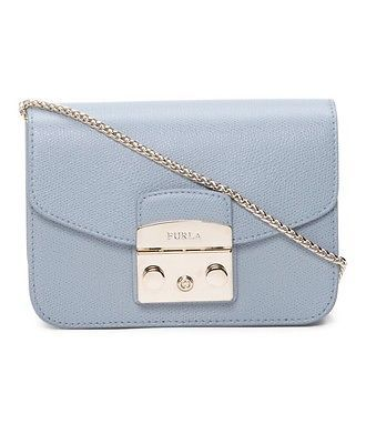 authentic outlet boutique check out FURLA Mini Leather Metropolis Crossbody Handbag Shoulder Bag MSRP ...