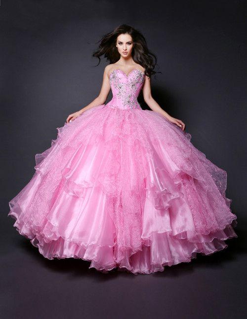 vestidos de mitzy de 15 años - Google Search | pink dresses ...