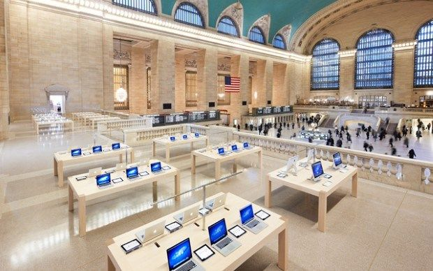 5 Most Beautiful Apple Stores From All Around The World Apple Store Grand Central Apple Retail Store Apple Store Design