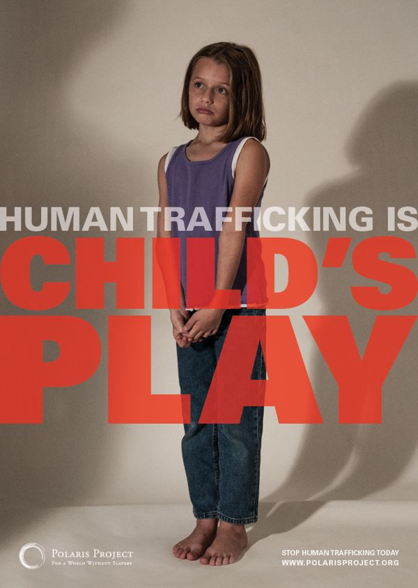 005 Human Trafficking PSA Poster Campaign Designer Krista