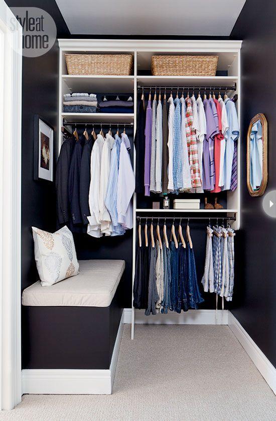 Ideas organize closet of man 6 ideas decohogar for Armarios de cuarto de bano para colgar
