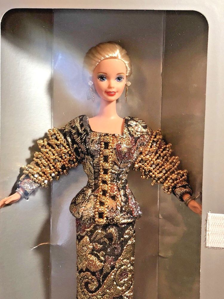 53d14bb6 Mattel 1995 Christian Dior Barbie Doll 13168 with Shipper #Mattel ...