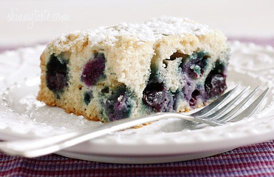Easy Blueberry Buttermilk Cake | Skinnytaste