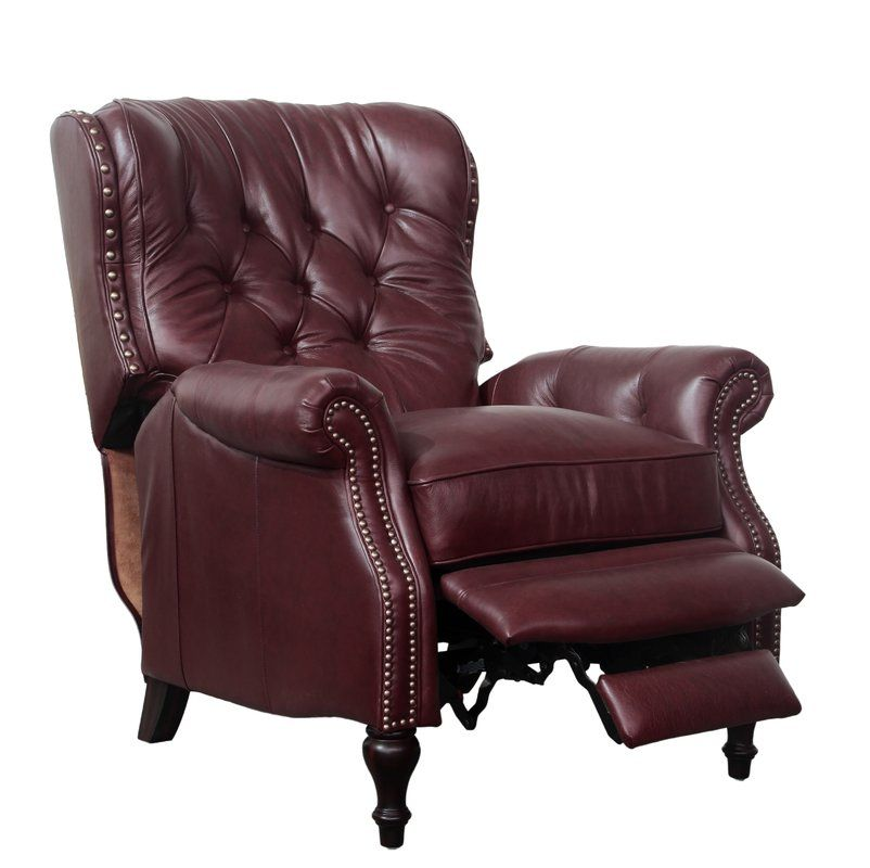 Lavoie Leather Manual Recliner Recliner Upholstered Furniture Furniture