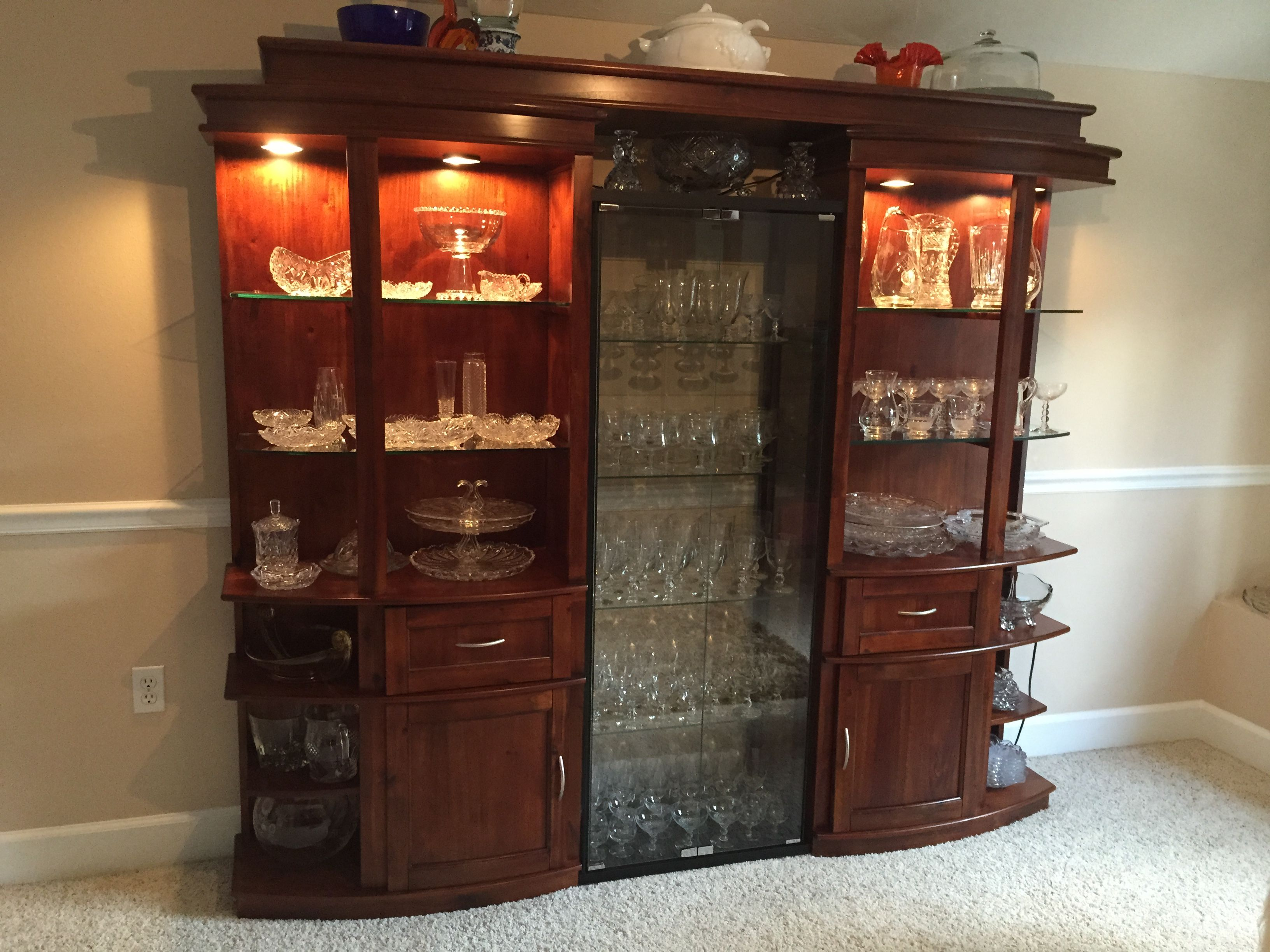 Repurpose The Side Towers And Bridge Of An Old Entertainment Center