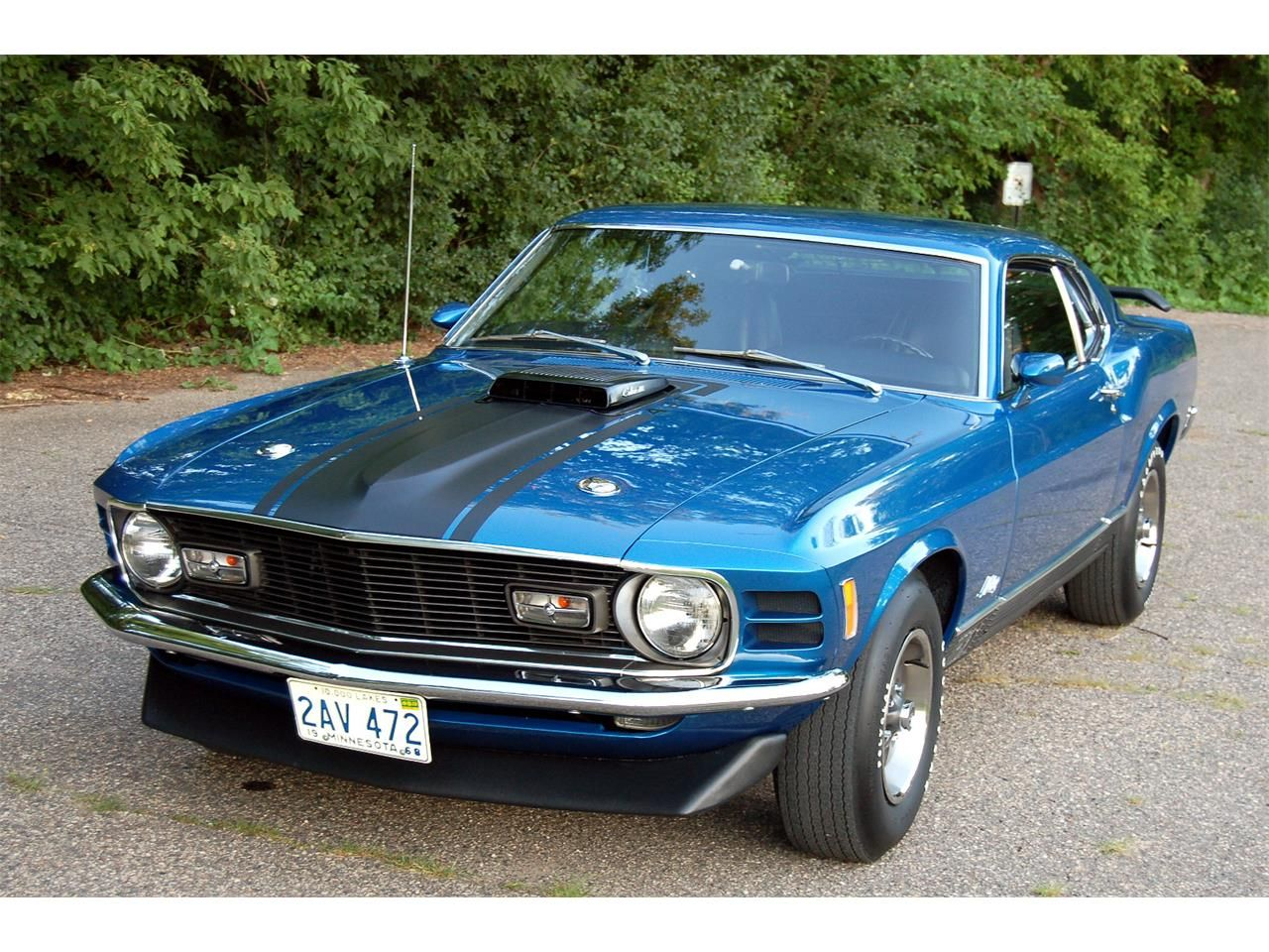 1970 Ford Mustang Mach 1 1970 ford