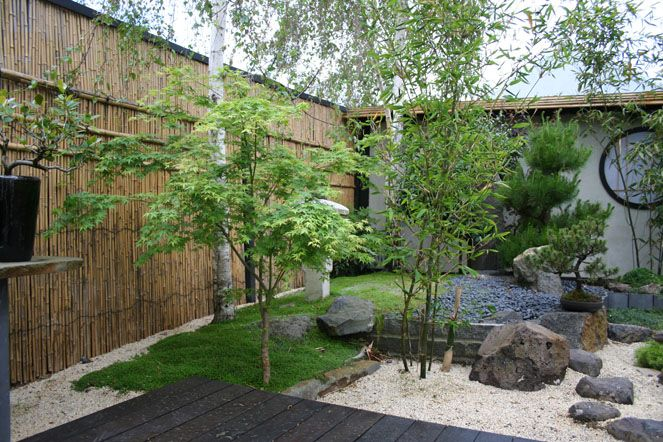 Japanese yard Ideas | Gallery Home > Oriental Gardens | Garden front ...
