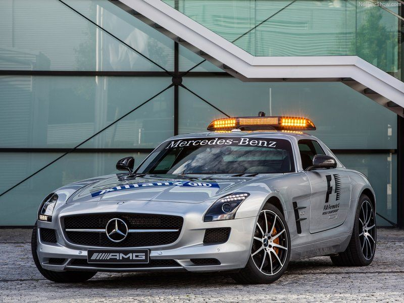 Mercedes Benz SLS AMG GT F1 Safety Car