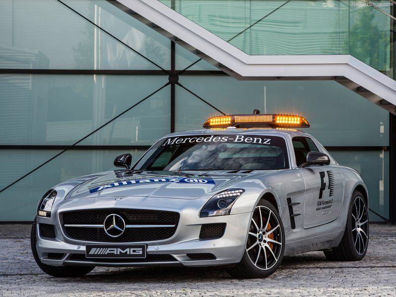 Mercedes Benz SLS AMG GT F1 Safety Car