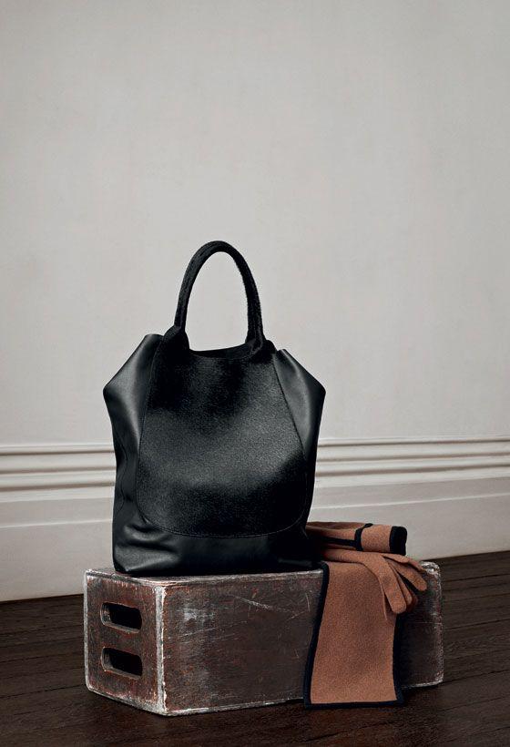 Agnona Cavallino shopping bag