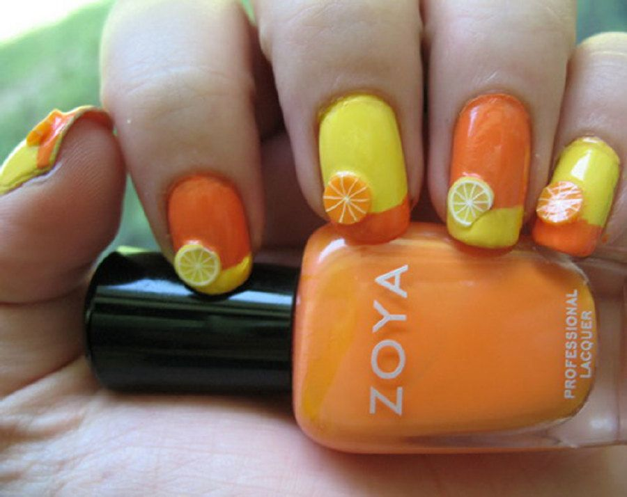 These Nails are Ready for Summer | Summer nail polish and Summer ...