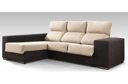 Sofá dos plazas más chaiselongue a la izquierda | Sofa