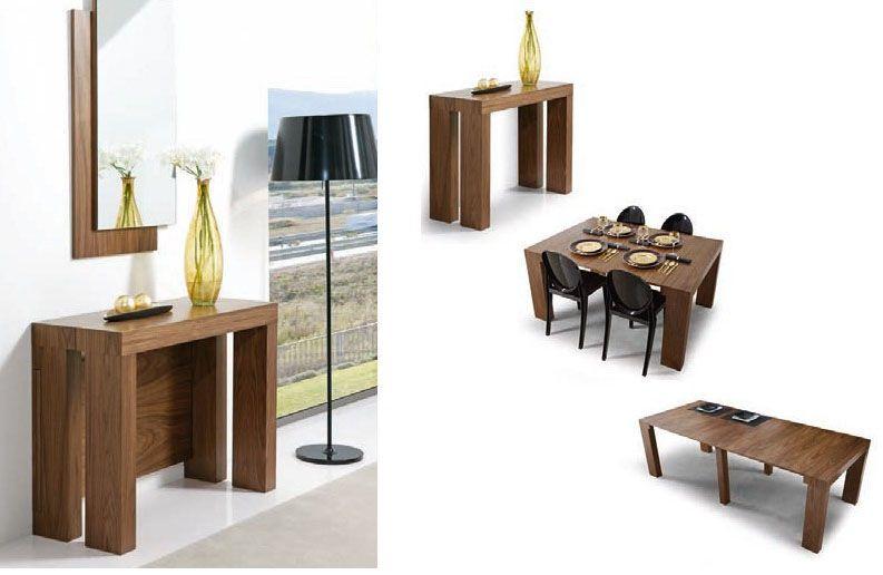 Dos mesas de comedor para espacios pequeños | cosas creativas ...
