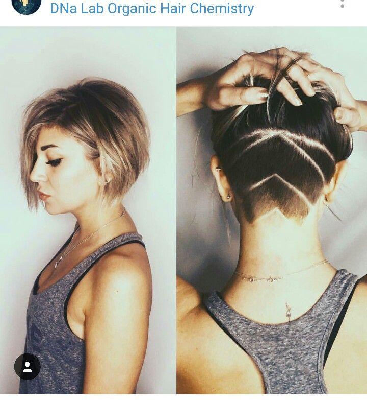 Undercut Bob Hair Styles Hair Inspiration Short Womens Hairstyles
