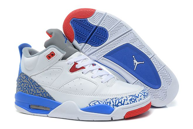 half off 95593 7df53 Nike Basketball Shoes Son of Mars Low Cement Jordans White True Blue Fire  Red Cement Grey-Release. Air Jordan Son Of Mars-015 Jordan Spizike ...
